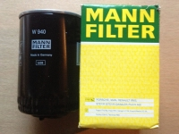 Фильтр масляный MANN W940 (ЗМЗ-51432, 514; h=142 mm)