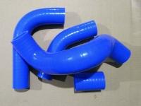 Патрубки радиатора силиконовые УАЗ Патриот с двигателем ЗМЗ 51432 комплект 4 шт