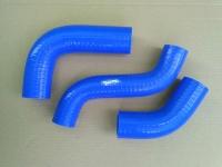 Патрубки радиатора силиконовые УАЗ 452, СГР с дв. ЗМЗ 409 комплект 3 шт