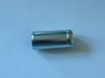Трубка-штуцер (ниппель) 16 мм ЗМЗ-514 отвода охлаждающей жидкости с ГБЦ на теплообменник 514.1307040